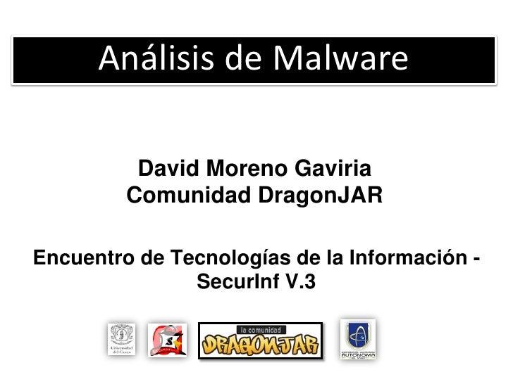 Análisis malware