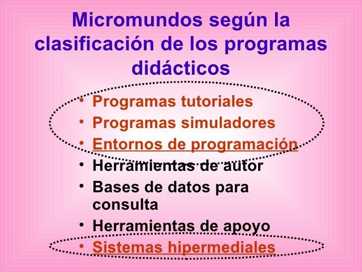 an u00e1lisis sobre micromundos pro como software educativo
