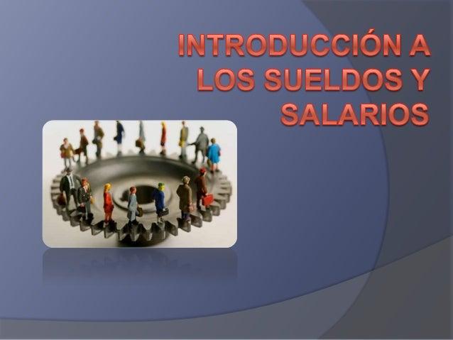CONCEPTOS BÁSICOS  DEL SALARIO