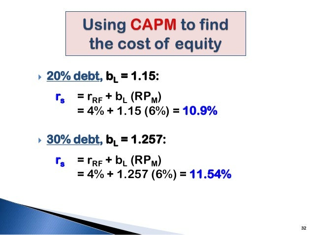 capital structure and shareholders wealth The shareholder wealth maximization goal states that management should seek to maximize the present value of the expected future returns to the owners (that is, shareholders) of the firm these returns can take the form of periodic dividend payments or proceeds from the sale of the common stock.