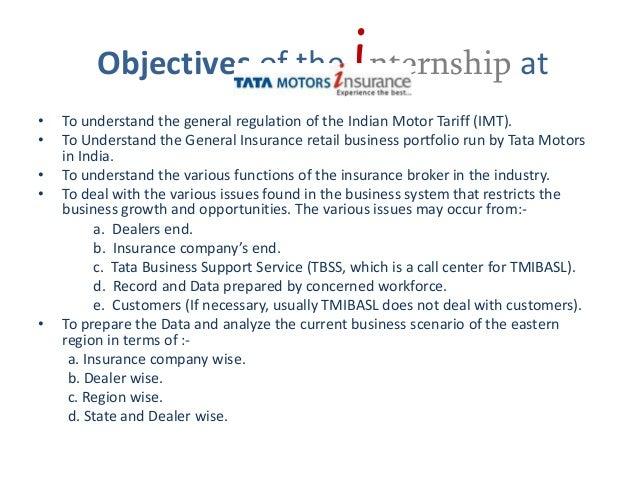 Tata Motors Insurance Brokering And Advisory Services