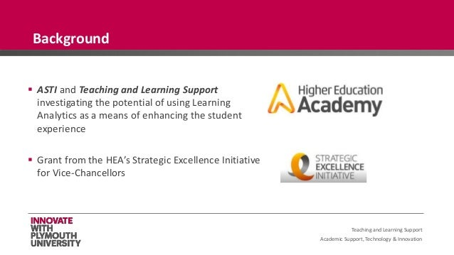 Academic Support, Technology & Innovation  ASTI and Teaching and Learning Support investigating the potential of using Le...