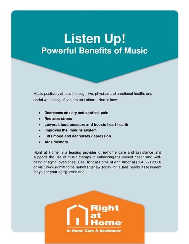 Ann Arbor Elderly Care Tip: The Health Benefits of Music