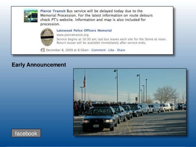 Facebook And Twitter As Emergency Management Communications Tool