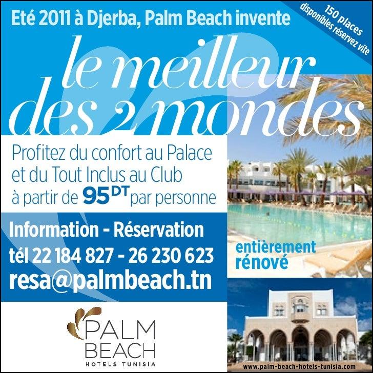 disp 15Eté 2011 à Djerba, Palm Beach invente               oni 0 p                                                       b...
