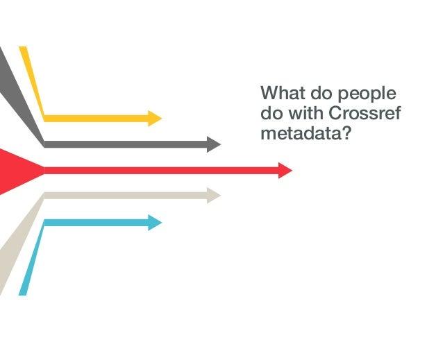 Crossref webinar: Anna Tolwinska - Crossref Participation Reports Metadata 09-11-18 Slide 3