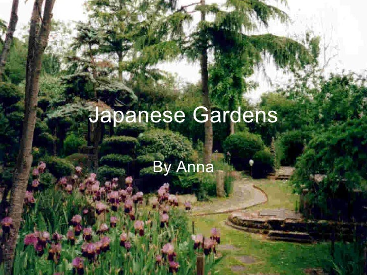 Anna m japanese gardens for Traditional japanese garden