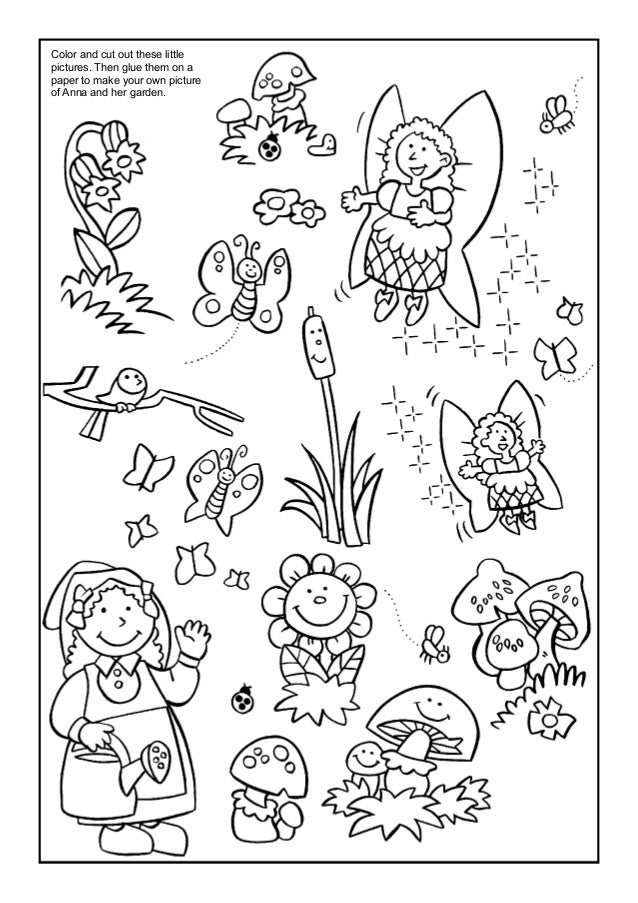 Coloring Book Anna And The Flower Gardenrhslideshare: Garden Creatures Coloring Pages At Baymontmadison.com
