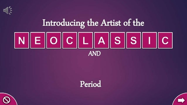 Introducing the Artist of the Period AND