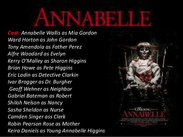 Annabelle Trailer Analysis
