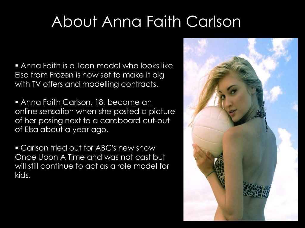 Faith teen model