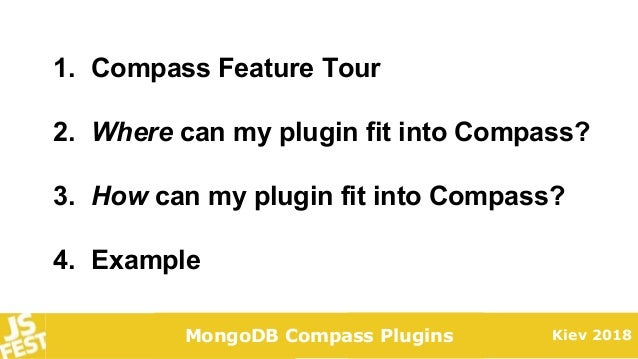 JS Fest 2018. Anna Herlihy. How to Write a Compass Plugin Slide 2