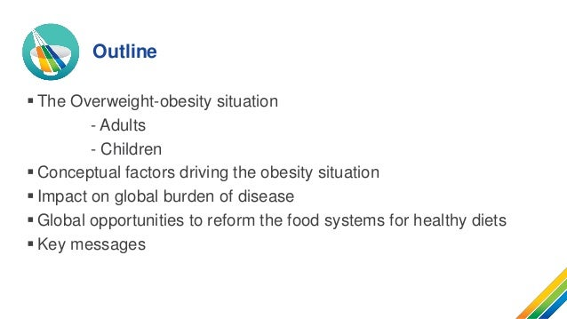 Overweight and obesity problem: Overweight and obesity trends Slide 2