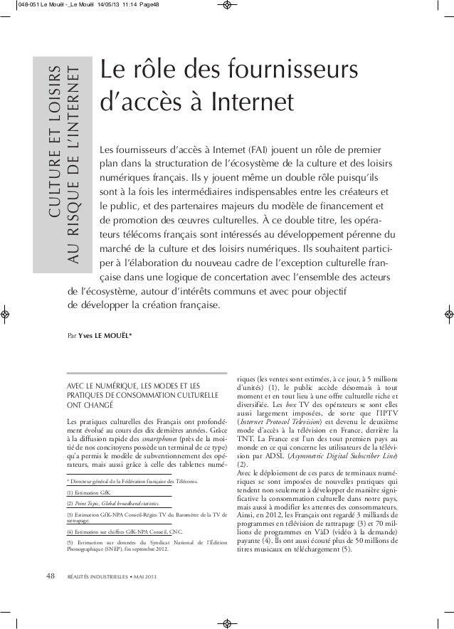 AVEC LE NUMÉRIQUE, LES MODES ET LESPRATIQUES DE CONSOMMATION CULTURELLEONT CHANGÉLes pratiques culturelles des Français on...