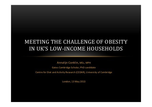 Annalijn Conklin, MSc, MPHGates Cambridge Scholar, PhD candidateCentre for Diet and Activity Research (CEDAR), University ...