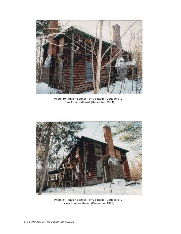 Annals of the Deserted Village (Part 4)