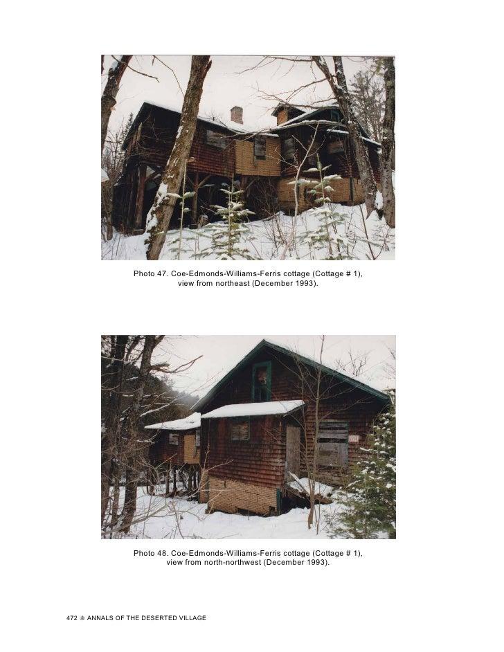 Photo 47. Coe-Edmonds-Williams-Ferris cottage (Cottage # 1),                             view from northeast (December 199...