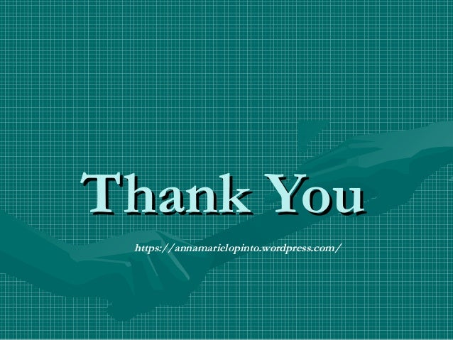 Thank YouThank You https://annamarielopinto.wordpress.com/