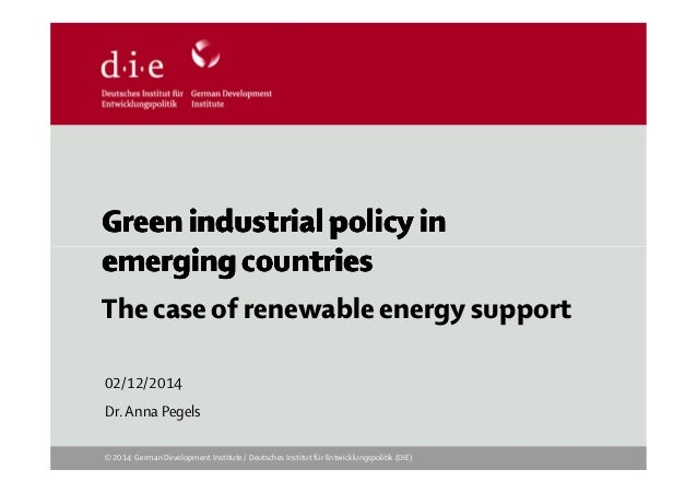 Green industrial policy inGreen industrial policy inGreen industrial policy inGreen industrial policy in emerging countrie...