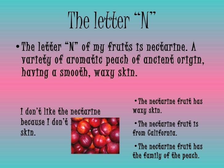 fruit abc book
