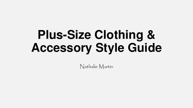 Plus Size Clothing Accessory Style Guide