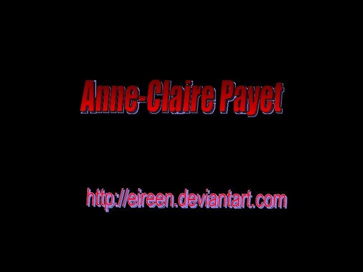 Anne-Claire Payet http://eireen.deviantart.com