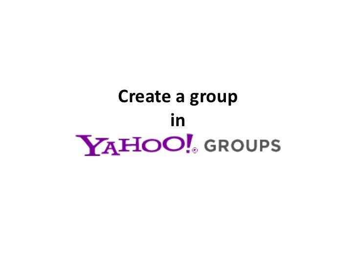 Create a group      in