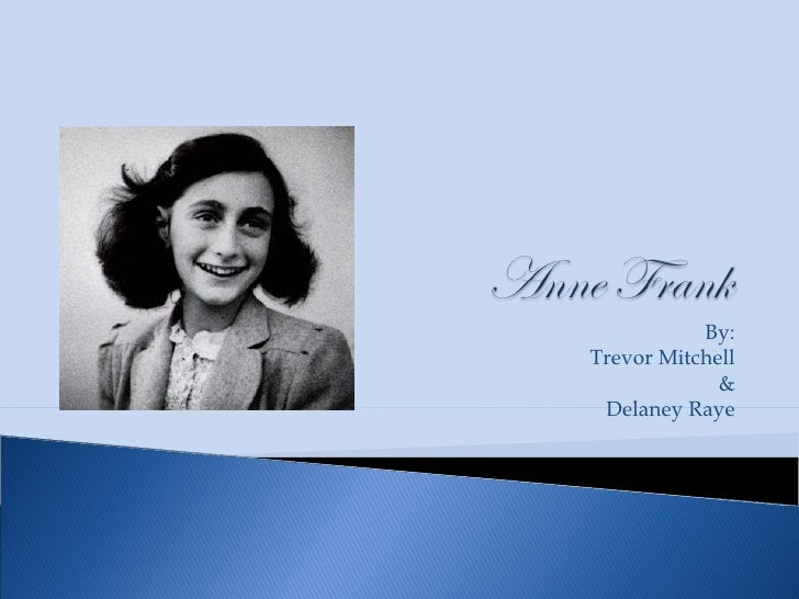anne frank analysis The diary of anne frank full plot summary including detailed synopsis and summaries for each scene.