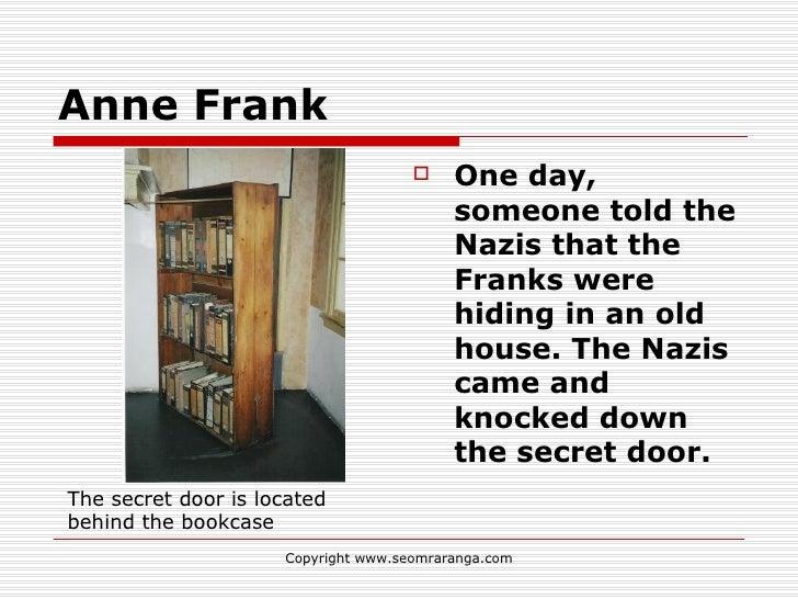 ... 9. Anne Frank ...  sc 1 st  SlideShare & Anne frank homework version