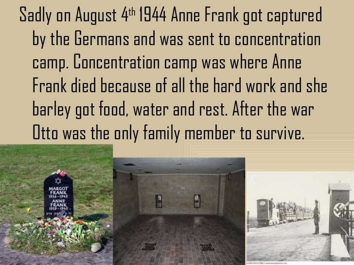 a biography and life work of anne frank Laziness may appear attractive, but work gives satisfaction - anne frank quotes from brainyquotecom.