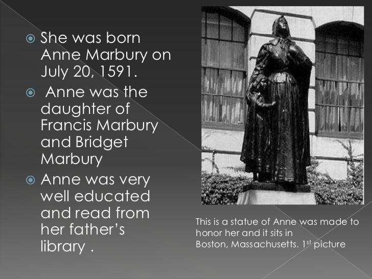 Anne marbury