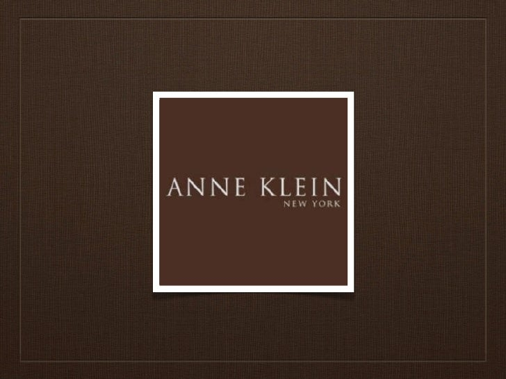 HISTORYAnne Klein 1970