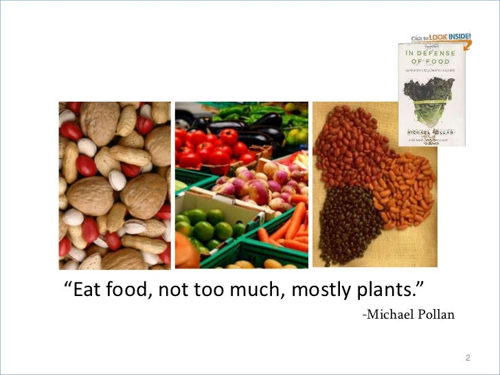 The Moving Target of Nutrition Slide 2