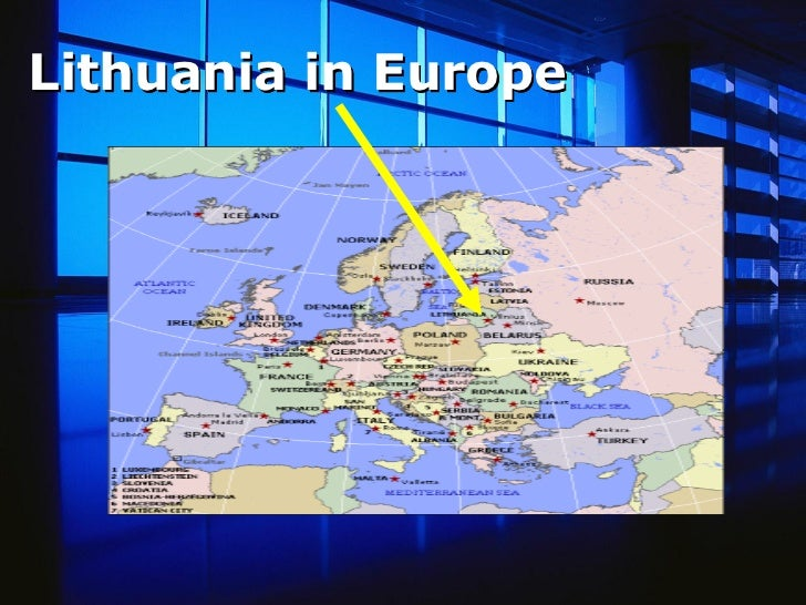 Lithuania in Europe