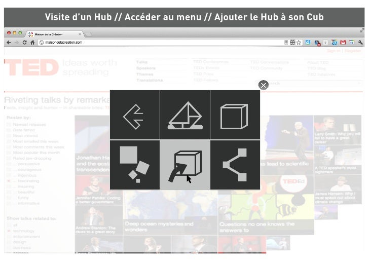 Visite d'un Hub // Accéder au menu // Ajouter le Hub à son Cub           Les Nubs pratiques   Rechercher                  ...
