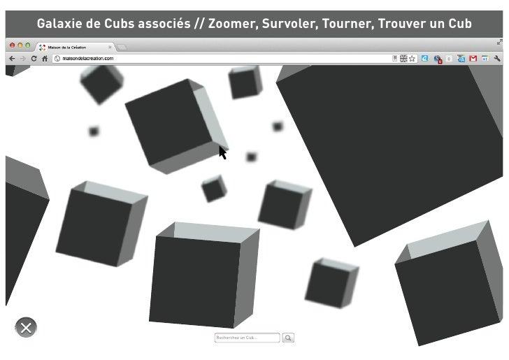 Galaxie de Cubs associés // Zoomer, Survoler, Tourner, Trouver un Cub                                Hub                  ...