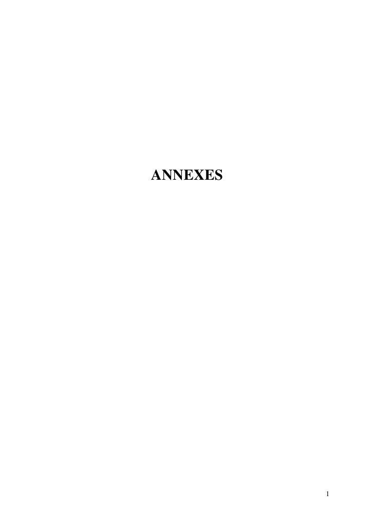 ANNEXES          1