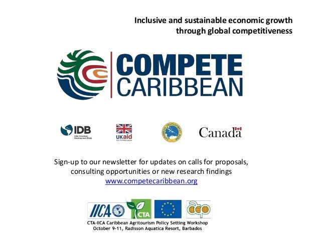 Sign-up to our newsletter for updates on calls for proposals, consulting opportunities or new research findings www.compet...