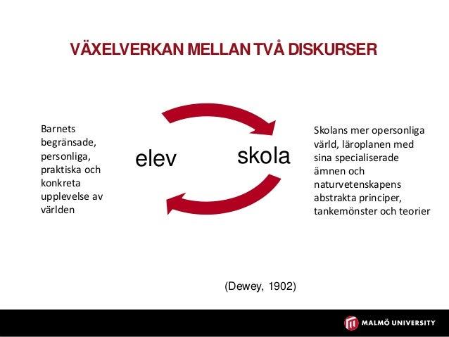 ANALYS Diskursiv rörlighet Förmåga att språkligt röra sig mellan och inom diskurser (Nygård Larsson, 2011) Vardaglig disku...