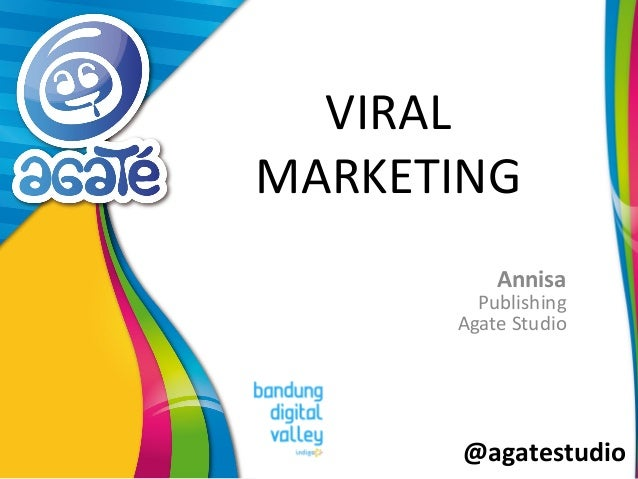 @agatestudio VIRAL MARKETING Annisa Publishing Agate Studio