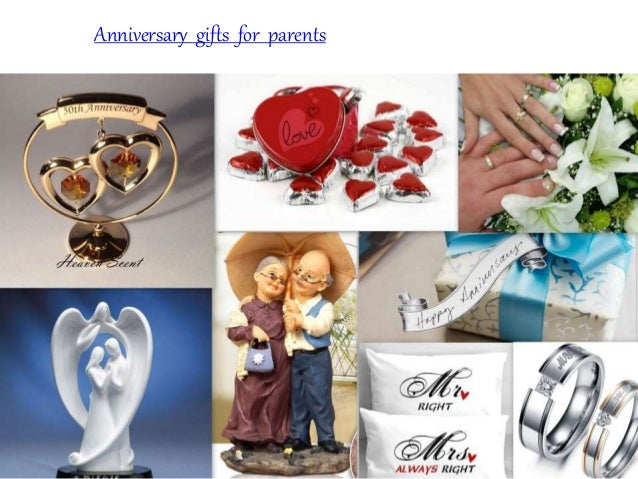 Anniversary gifts for parents