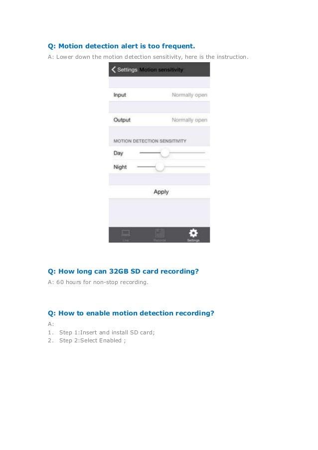 Annke SP1 HD Wireless IP Camera FAQ