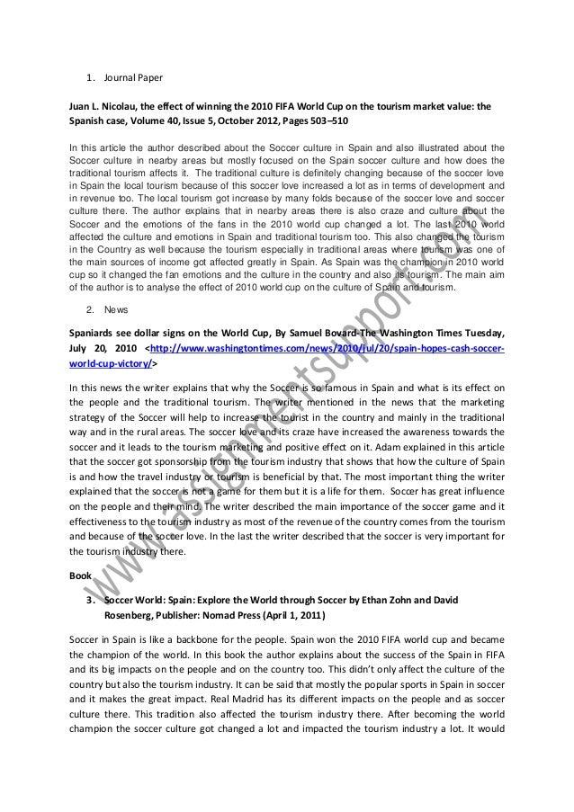 tourism in spain essay