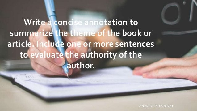Write a concise annotation to summarize the theme of the book or article. Include one or more sentences to evaluate the au...