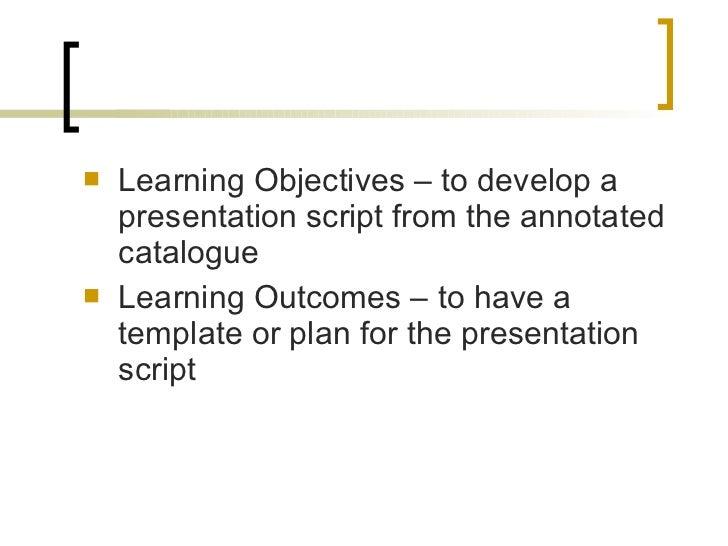 FM3 Developing a Presentation Script Slide 2