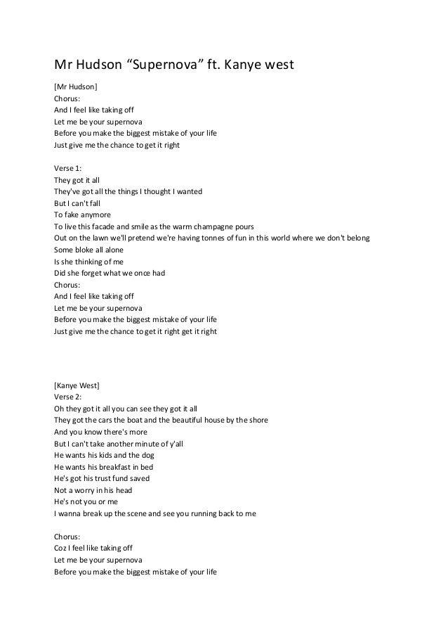 Annotated Lyrics