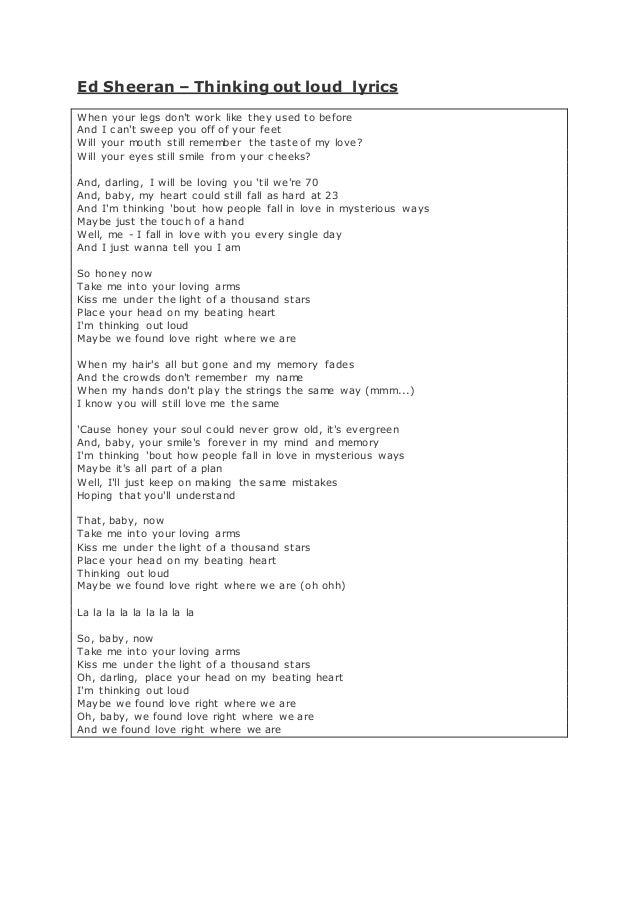 Love Songs [annotated]