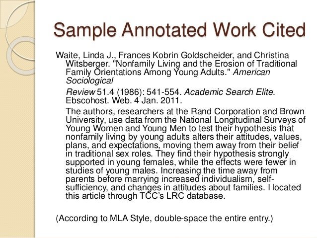 annotated works cited mla seatle davidjoel co