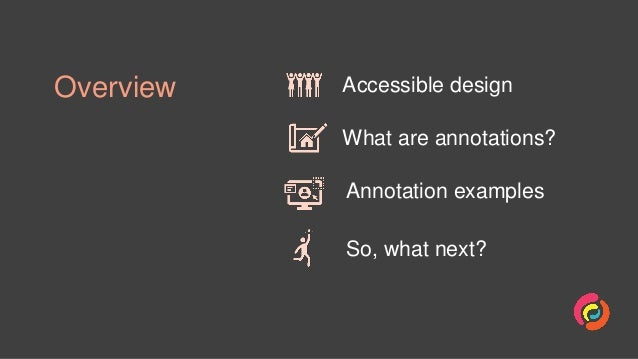 Annotating designs for accessibility Slide 2