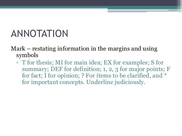 Image Annotation Thesis